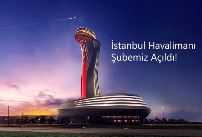 Jetizz İstanbul Havalimanı'nda